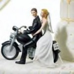 Get Away Motorcycle Cake Topper