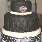 Harley Davidson Wedding Cake
