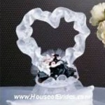 HogTied Motorcycle Cake Topper
