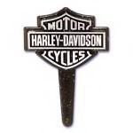 Harley Davidson Logo Cake Picks