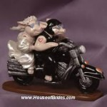 HogTied Motorcycle Figurine