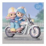 precious moments motorcycle figurine
