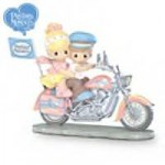 Precious Moments® Biker Couple on Motorcycle