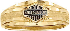 Harley Davidson Wedding Band