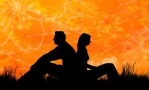 couple-orange-black