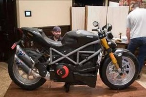 Life Size Ducati Motorcycle Cake