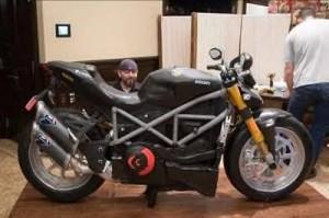 Life Size Ducati Motorcycle Cake